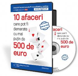 10 afaceri accesibile ce pot fi demarate la ora actuala in Romania!