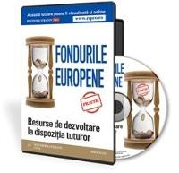 Fondurile europene - resurse de dezvoltare la dispozitia tuturor