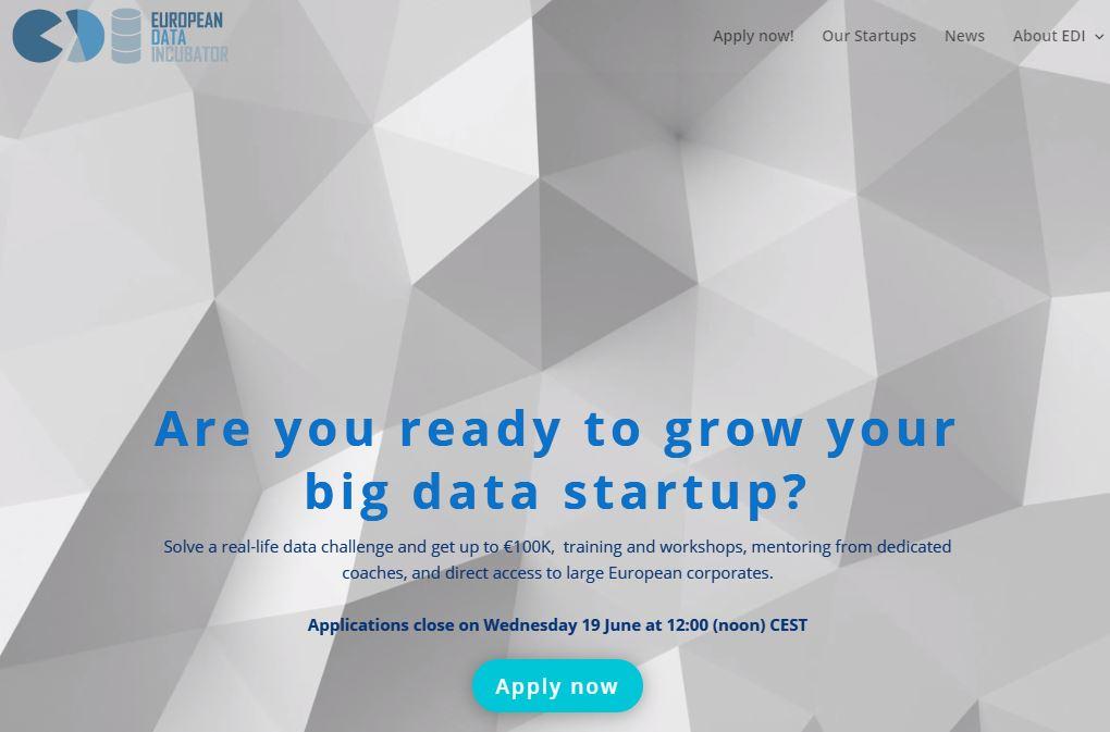 finantare big data 100.000 euro EDI