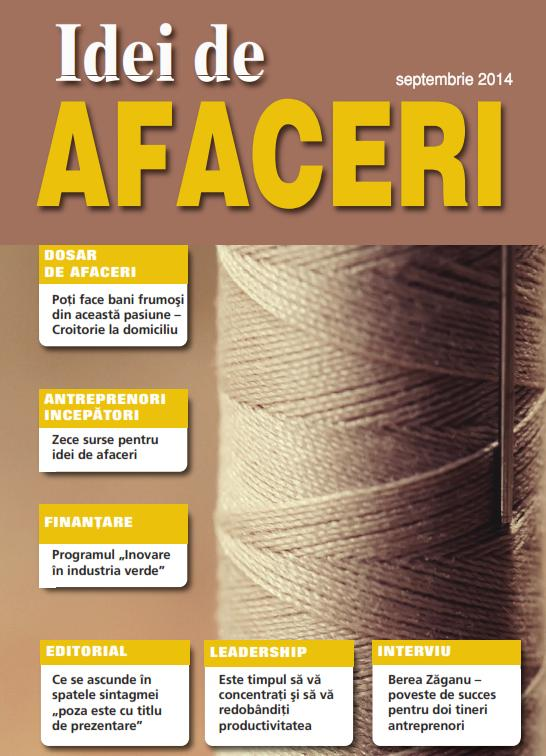 Revista Idei de Afaceri