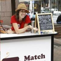 Matchmaker Cafe - Stand de cafea si agentie matrimoniala!