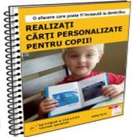 Afacerea zilei la 1 euro: Realizarea de carti personalizate pentru copii!