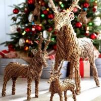 Decoratiuni de Craciun: Obtine profit din reni handmade!