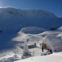 Afaceri inedite in Romania - Hotelul de gheata cu igluuri gata de oaspeti!