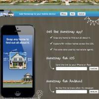 HomeSnap - Aplicatia care iti ofera informatii de natura imobiliara printr-o simpla fotografie!