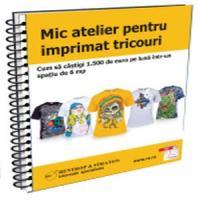 Idei de afaceri in 2012 si 2013: Mic atelier pentru imprimat tricouri!