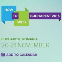 How to Web 2013 in noiembrie, la Bucuresti