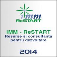 IMM ReStart - Resurse si consultanta pentru dezvoltare. Conferintele incep pe 27 martie